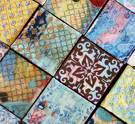 patterned decorative decor wall stock modern ceramic download tiles texture vintage illustration and floor flower
